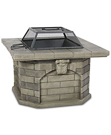 Irvan Wood Fire Pit, Quick Ship