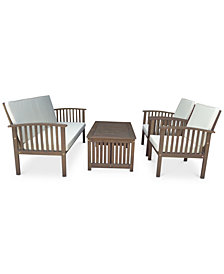 Gadson Outdoor  4-Pc. Chat Set, Quick Ship