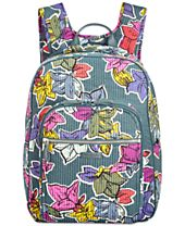 Vera Bradley Iconic Deluxe Campus Small Backpack