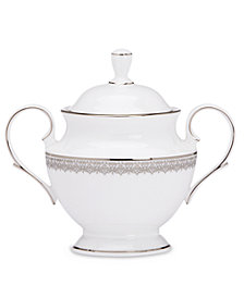 Lenox Lace Couture Sugar Bowl