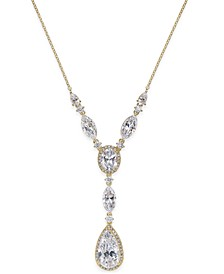 Crystal Y-Neck Necklace, Created for Macy's