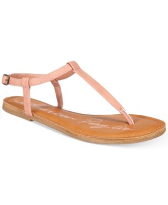 Image of American Rag Krista T-Strap Flat Sandals, Only at Macy's