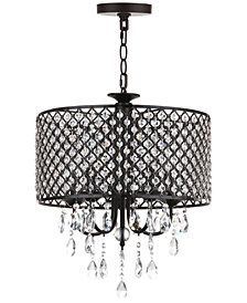 Safavieh Alex 5-Light Black Chandelier