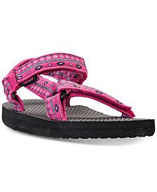 Teva Little Girls' Original Universal Athletic Flip Flop Sandals from Finish Line