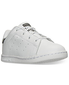 adidas Toddler Girls' Stan Smith Casual Sneakers from Finish Line