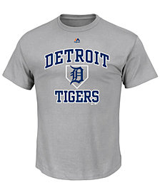 Majestic Men's Detroit Tigers Hit and Run T-Shirt