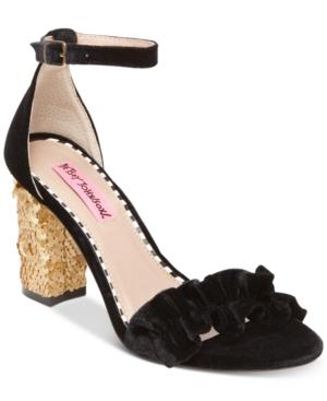 Betsey Johnson Ilana Block-Heel Sandals Women