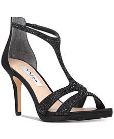 Nina Brietta T-Strap Evening Sandals