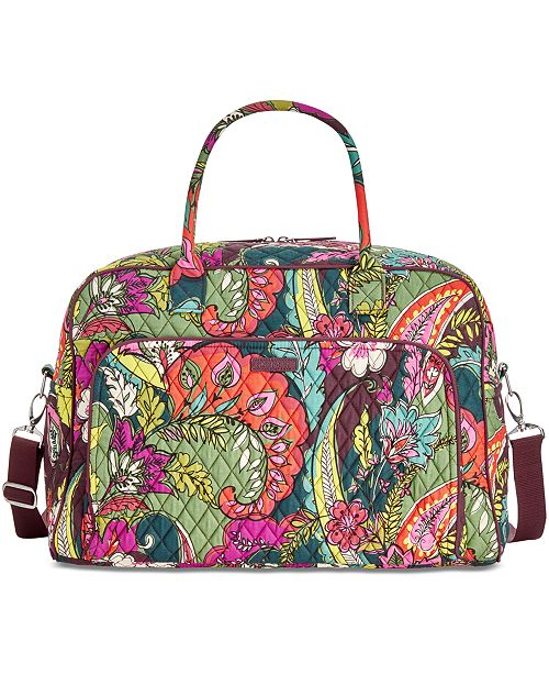 Vera Bradley Signature Weekender Travel Bag 2 0 314 Reviews Main Image