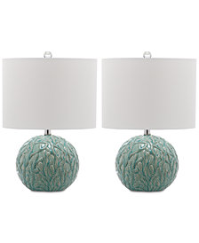 Safavieh Set of 2 Robinson Table Lamps