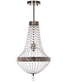 Safavieh Shirley Grand Chrome-Finish Pendant