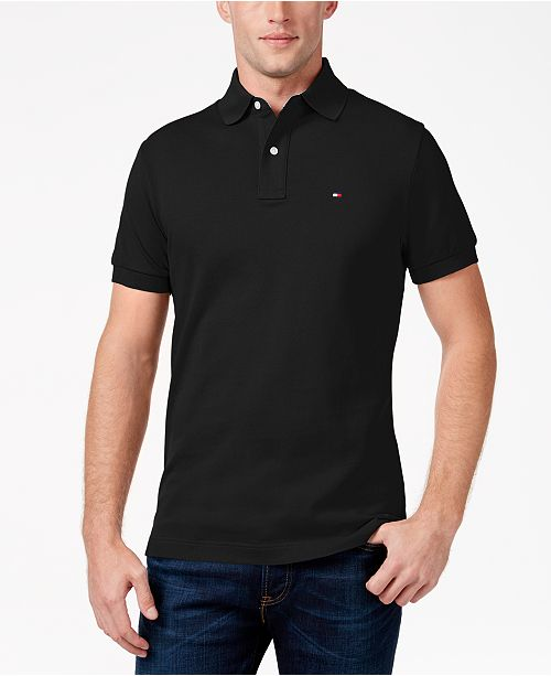 Tommy Hilfiger Men s Classic-Fit Ivy Polo, Created for Macy s ... e04e495932