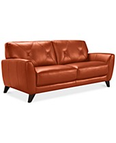 Surprising Orange Sofas Couches Macys Gamerscity Chair Design For Home Gamerscityorg