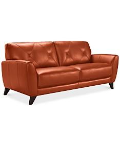 Orange Sofas & Couches - Macy\'s
