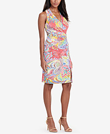 Lauren Ralph Lauren Paisley Jersey Dress