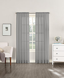"Lichtenberg No. 918 Sheer Voile 59"" x 95"" Rod Pocket Curtain Panel"