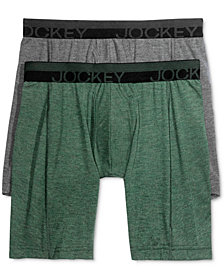 Jockey Men's Sport Outdoor 2 Pack Midway Briefs
