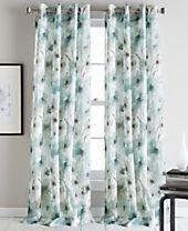 "DKNY Modern Bloom 50"" x 95"" Curtain Panel"