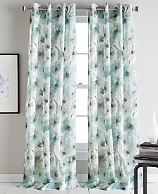 "DKNY Modern Bloom 50"" x 95"" Curtain Panel"