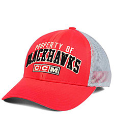 CCM Chicago Blackhawks Truckn Adjustable Cap