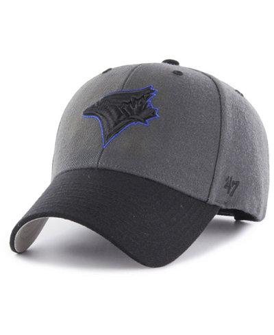 '47 Brand Toronto Blue Jays 2Tone Charcoal/Black Pop MVP Cap