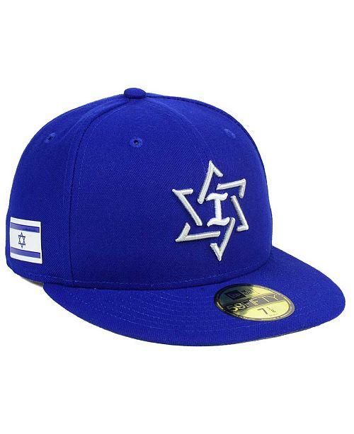 69d423a787ba New Era Israel World Baseball Classic 59FIFTY Cap & Reviews ...