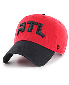 '47 Brand Atlanta Hawks 2-Tone Clean Up Cap