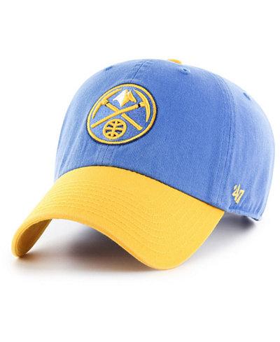 '47 Brand Denver Nuggets 2-Tone Clean Up Cap