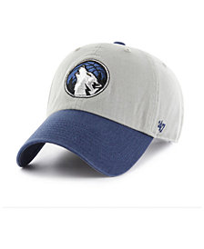 '47 Brand Minnesota Timberwolves 2-Tone Clean Up Cap