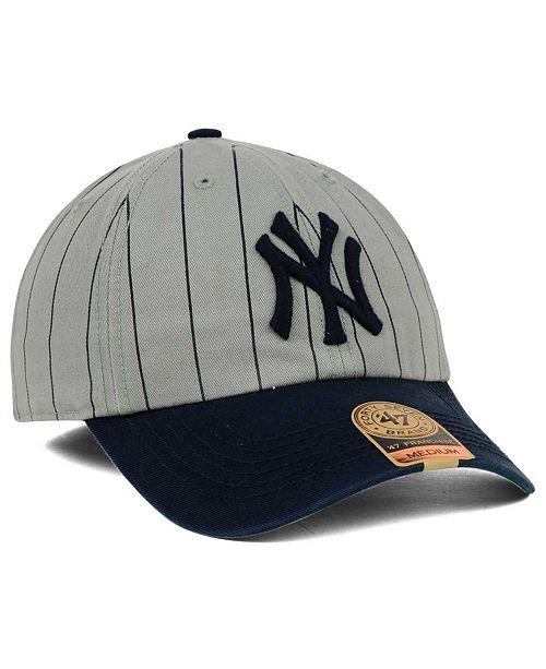 47 Brand New York Yankees Pinstripe FRANCHISE Cap - Sports Fan Shop ... 5370865a5e7