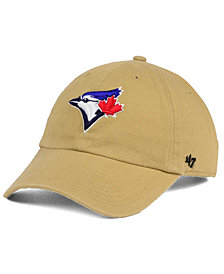 '47 Brand Toronto Blue Jays Khaki CLEAN UP Cap