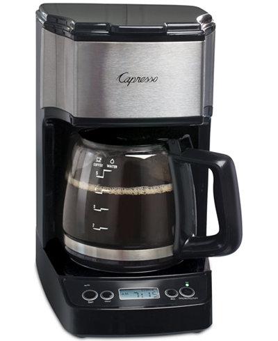 Capresso 5-Cup Mini Drip Programmable Coffee Maker