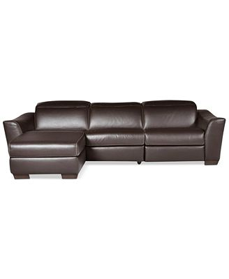 Leather Sectional Sofas And Couches - Macy'S