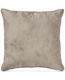 "Croscill Birmingham Embroidered 16"" Square Decorative Pillow"