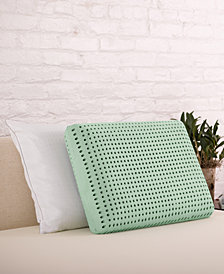 CLOSEOUT! Authentic Comfort® Jumbo Green Tea Memory Foam Pillow