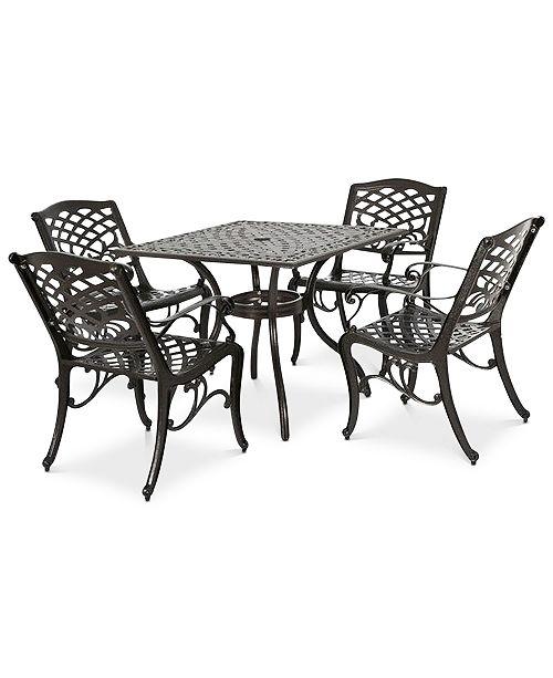 Furniture Kerine 5-Pc. Dining Set, Quick Ship