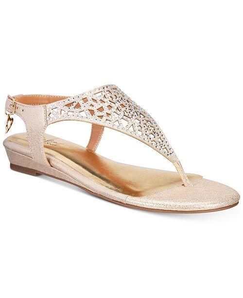 49ac0a42bdf6 Thalia Sodi Ilyssa Wedge Sandals