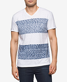 Calvin Klein Jeans Men's Reverse Print Colorblocked Cotton T-Shirt