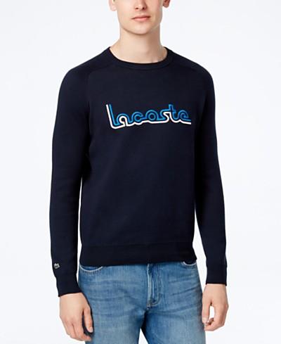 Lacoste Men's Logo Knit