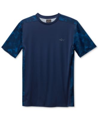 Image of Greg Norman for Tasso Elba Men's Performance Sun Protection T-Shirt