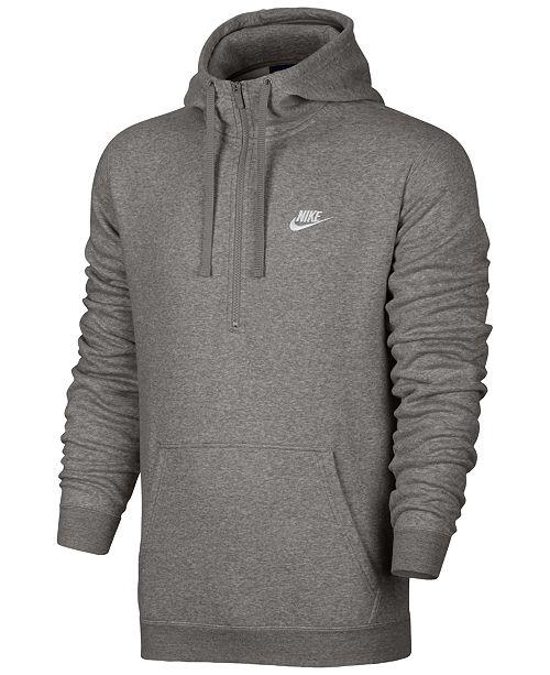 2bf0c16f9 Nike Men's Half-Zip Hoodie & Reviews - Hoodies & Sweatshirts - Men ...