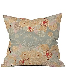 "Iveta Abolina Crème de la Crème 16"" Square Decorative Pillow"