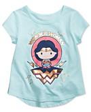 DC Comics Wonder Woman Graphic-Print Cotton T-Shirt Toddler & Little Girls 2T-6X