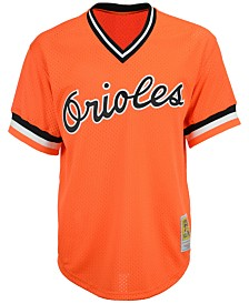 Mitchell & Ness Men's Cal Ripken Jr. Baltimore Orioles Authentic Mesh Batting Practice Jersey