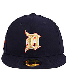 New Era Detroit Tigers Exclusive Gold Patch 59FIFTY Cap