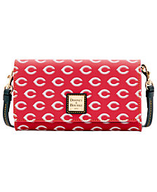 Dooney & Bourke Cincinnati Reds Daphne Crossbody Wallet