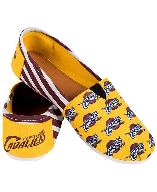 Forever Collectibles Cleveland Cavaliers Canvas Logo Shoe