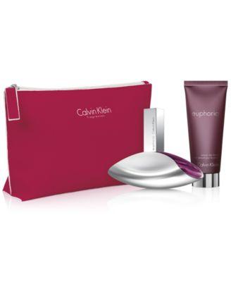 Calvin Klein 3-Pc. Euphoria Gift Set - Fragrance Gift Sets - Macy's