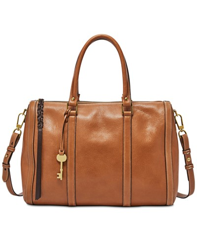 Fossil Kendall Medium Saddle Satchel