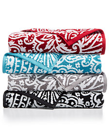 Charter Club Elite Cotton Fashion Paisley Bath Towel Collection, Created for Macy's